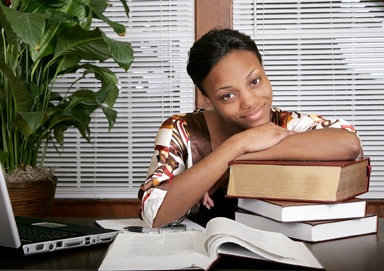Business-Woman-with-Books